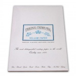 Original Crown Mill Velin weiss Briefpapier