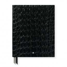 Montblanc Notebook Croco Print Shiny Black #149