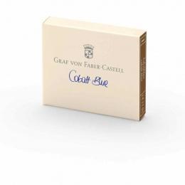 Graf von Faber-Castell Tintenpatronen Kobaltblau