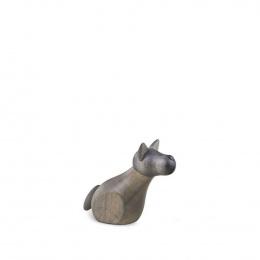 Köhler Hirtenhund sitzend, klein