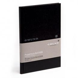 Gmund Projektbuch Blocker - Midi + black