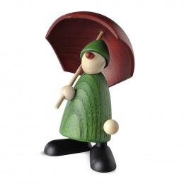 Köhler Gratulant Charlie mit Schirm grün