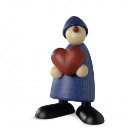 Köhler Gratulant Theo mit Herz blau