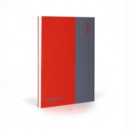 Fantasticpaper Notizbuch XL blanko Rot