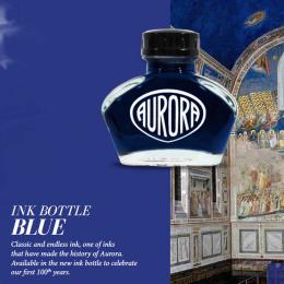 Aurora Tinte im Glas Blau