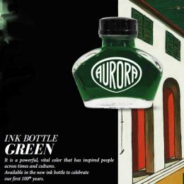 Aurora Tinte im Glas Grün