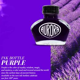 Aurora Tinte im Glas Violett