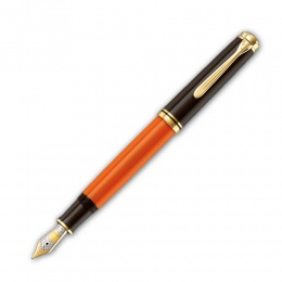 Pelikan Souverän Special Edition M800 Burnt Orange Kolbenfüllhalter