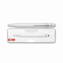 Caran d´Ache Kugelschreiber 849 Popline weiss