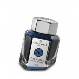 Caran d´Ache Chromatics Tintenfass Magnetic Blue