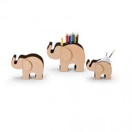 Graf von Faber-Castell Elefant aus Naturleder