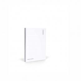 Fantasticpaper Notizbuch A5 Silberschnitt blanko Weiss
