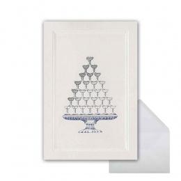 Sektglas-Pyramide