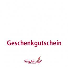 Fritz Schimpf Einkaufsgutschein