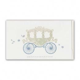 Doppelkarte Hochzeit Kutsche