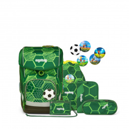 Ergobag Eco Hero-Edition Cubo ElfmetBaer Schulranzen Set