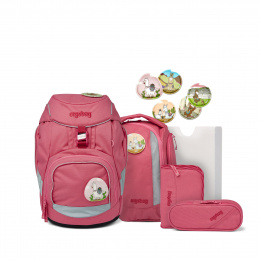 Ergobag Eco Hero-Edition Pack Lamas in Baerjamas Schulranzen Set