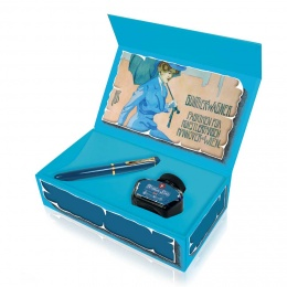 Pelikan Special Edition Classic M120 Iconic Blue Kolbenfüllhalter Set