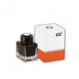 Montblanc Tintenfass Lucky Orange
