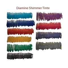 Diamine Shimmer Füllhaltertinte im 50 ml Glas