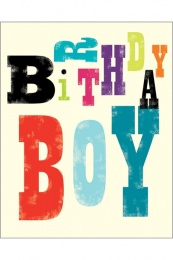 Geburtstag Boy