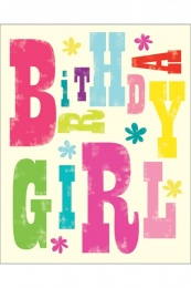 Geburtstag Girl