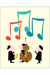 Geburtstag Musikanten