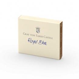 Graf von Faber-Castell Tintenpatronen Royal Blue (killerbar)