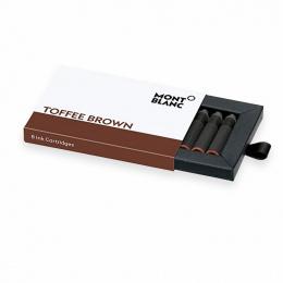 Montblanc Tintenpatronen - Packung mit 8 Patronen Toffee Brown (Braun)