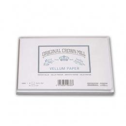 Original Crown Mill Velin weiss Briefpapier Briefkarten-/hüllenset  DIN A/C6 (je 15 St.)
