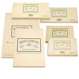 Original Crown Mill Velin creme Briefpapier
