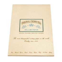 Original Crown Mill Velin creme Briefpapier Korrespondenzblock DIN A4 (50 Blatt)