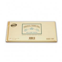 Original Crown Mill Velin creme Briefpapier Briefkarten-/hüllenset  DIN DIN lang (je 15 St.)