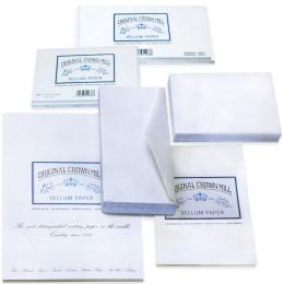 Original Crown Mill Velin weiss Briefpapier