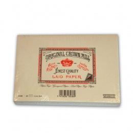 Original Crown Mill Vergé creme Briefpapier Gefütterte Briefhüllen C6 (25 St.)