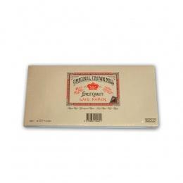 Original Crown Mill Verge creme Briefpapier Gefütterte Briefhüllen DIN lang (25 St.)
