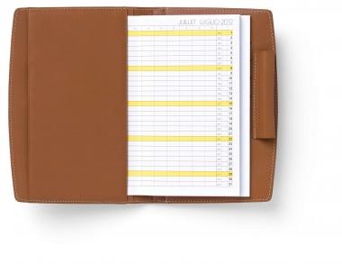 Graf von Faber-Castell Leder EPSOM Kalenderbrieftasche