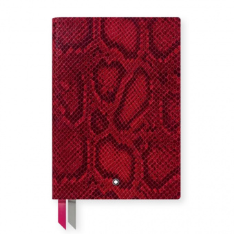 Montblanc Notebook Python Print Cayenne Red #146