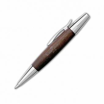 Faber-Castell E-Motion Birnbaum Dunkelbraun Drehkugelschreiber