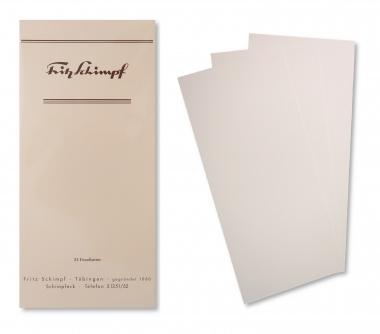 Fritz Schimpf Feinpost Briefkarten DIN lang