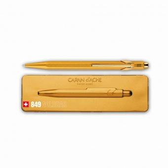 Caran d´Ache Kugelschreiber 849 Goldbar