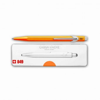 Caran d´Ache Kugelschreiber 849 Popline neonorange