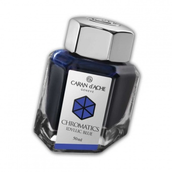 Caran d´Ache Chromatics Tintenfass Idyllic Blue