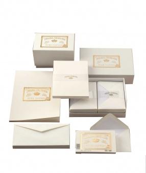 Original Crown Mill Cotton Collection Briefpapier Set Briefkarten und Briefhüllen C6