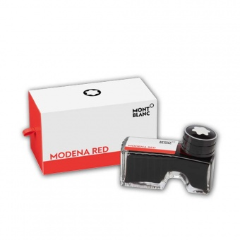 Montblanc Tintenfass Modena Red