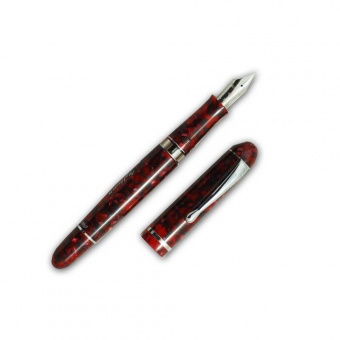 Firma Limited Edition Nettuno Docet Anniversario Red Kolbenfüllhalter