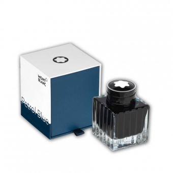 Montblanc Tintenfass Petrol Blue
