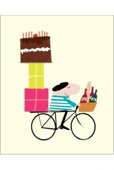 Geburtstag Fahrrad