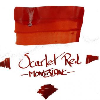 Montblanc Meisterstück Hommage to Arthur Conan Doyle Scarlet Red Tintenglas