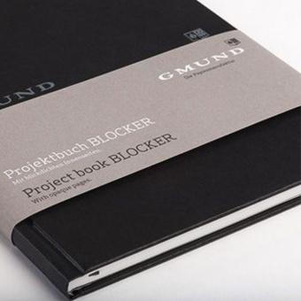 Gmund Projektbuch Blocker - Midi black
